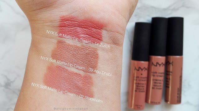 NYX Soft Matte Lip Cream Serisi