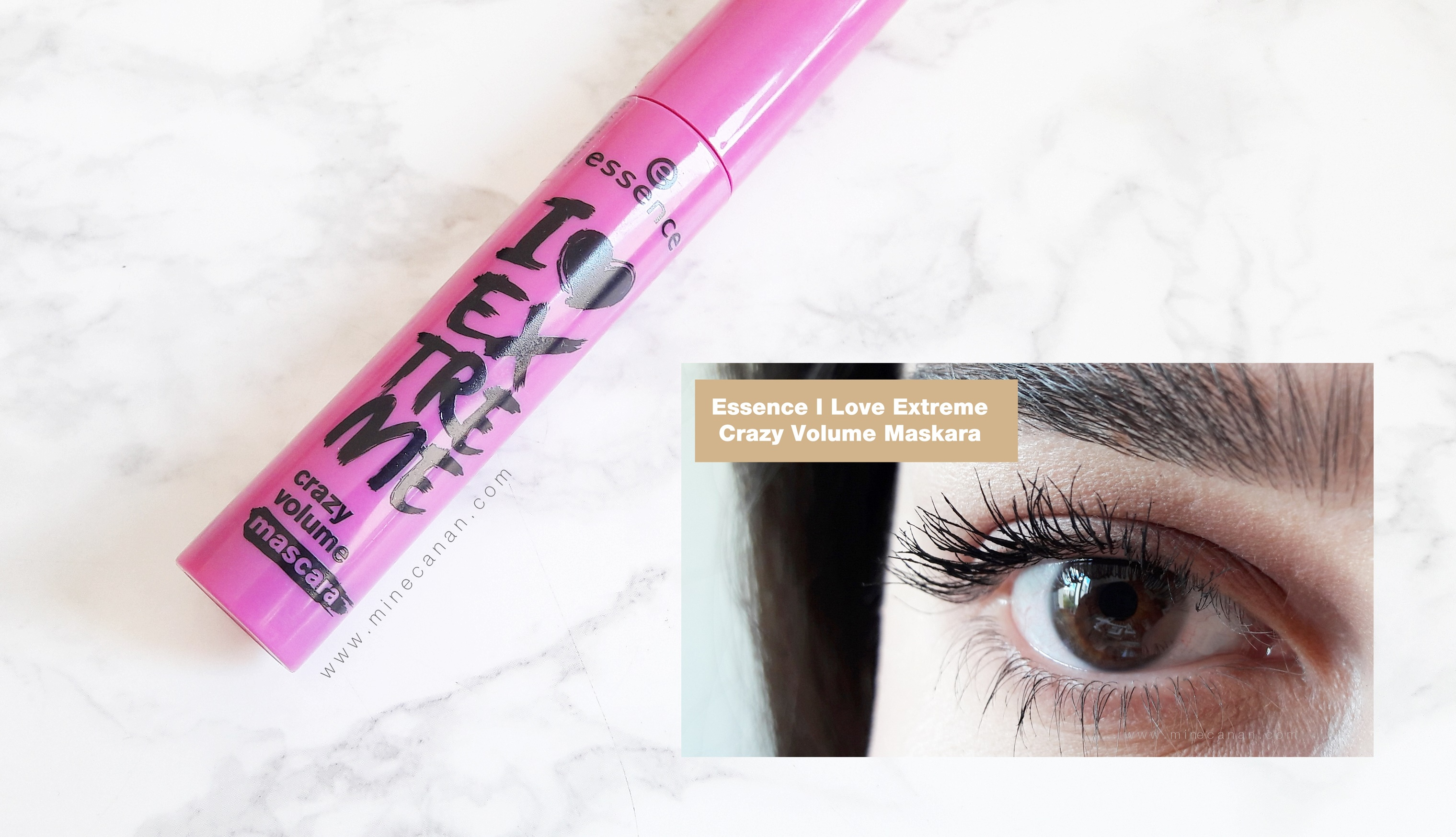 Essence I Love Extreme Crazy Volume Rimel | Blog by Mine Canan