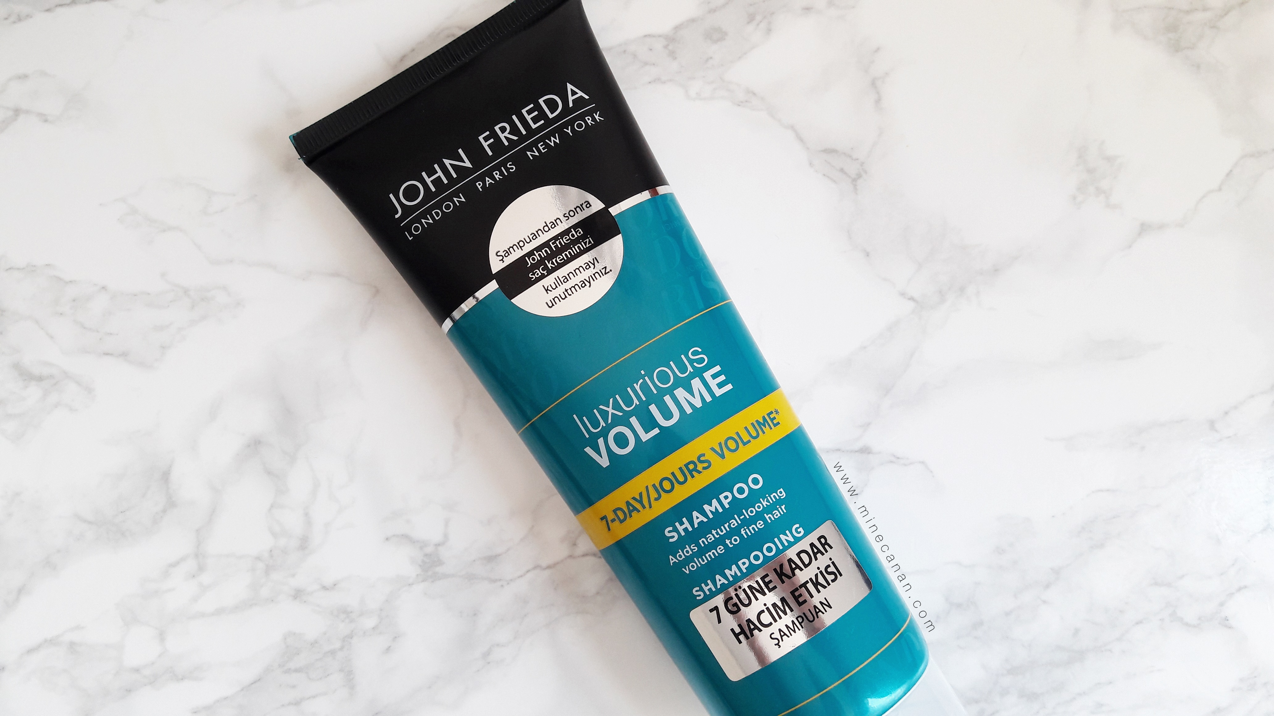 John Frieda Luxurious Volume-Hacim Veren Şampuan | Blog by Mine Canan