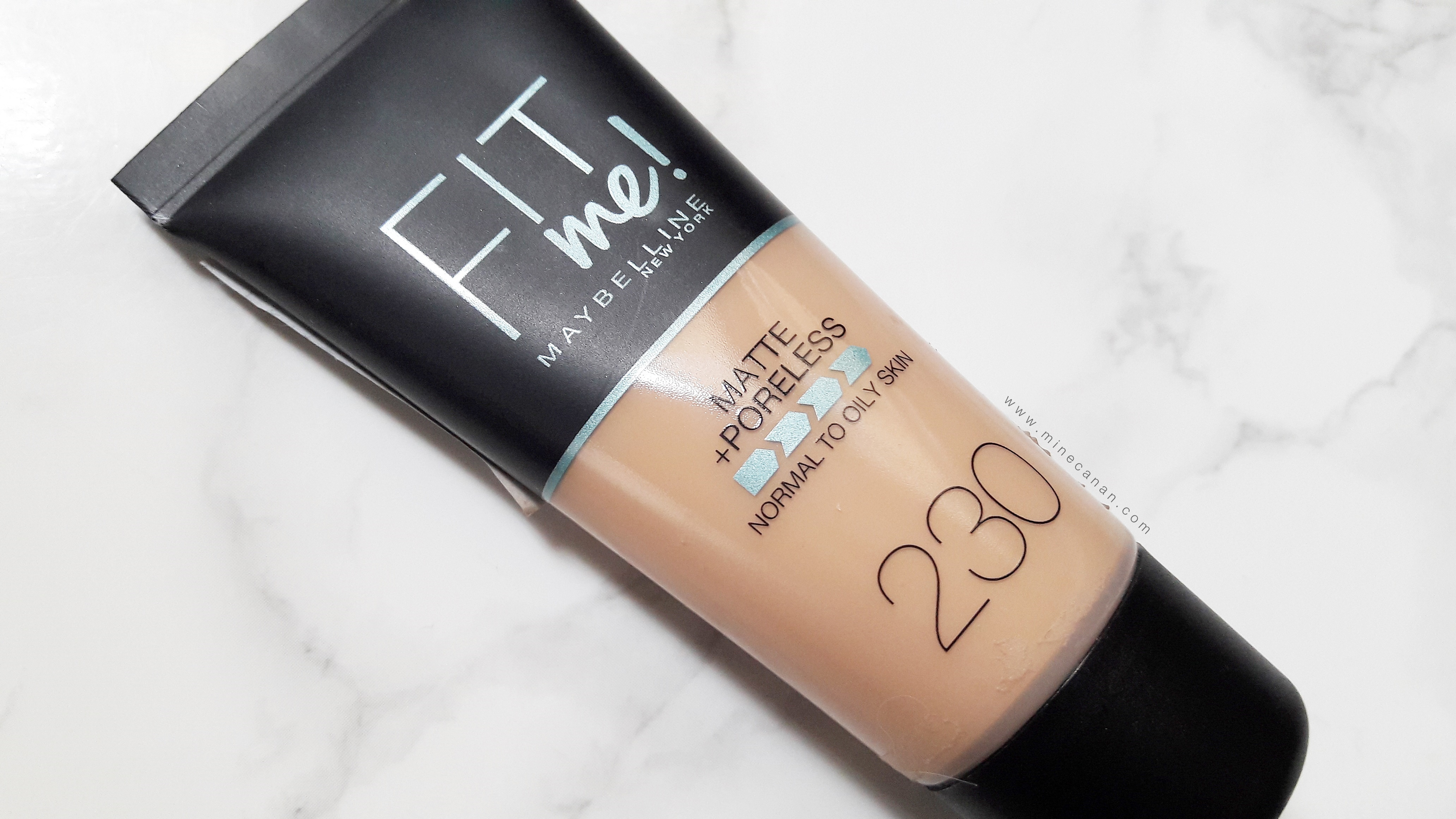 Maybelline Fit Me Matte Plus Poreless Fondöten - 230 Numara | Blog by Mine Canan